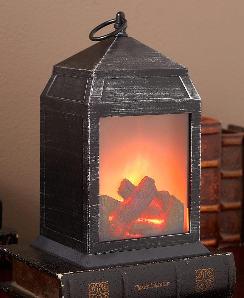 Realistic Fireplace Lantern Home - Lighting Tigerlily and Me