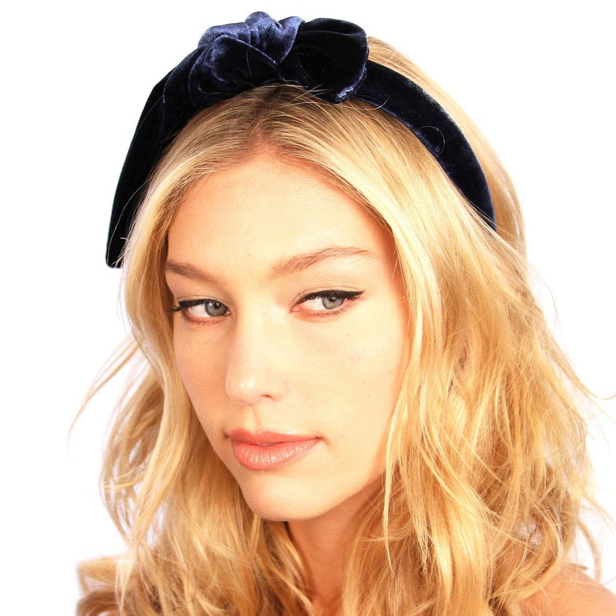 Retro Velvet Knot Headband Women - Accessories - Hair Accessories Tigerlily and Me