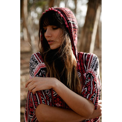 River Mayan Hoodie Women - Apparel - Sweaters Cardigans and Tops Tigerlily and Me