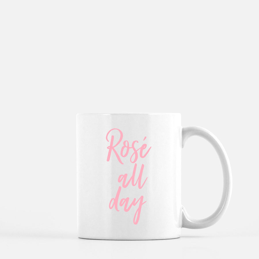 Rose All Day Coffee Mug Home - Glasses & Mugs Tigerlily and Me