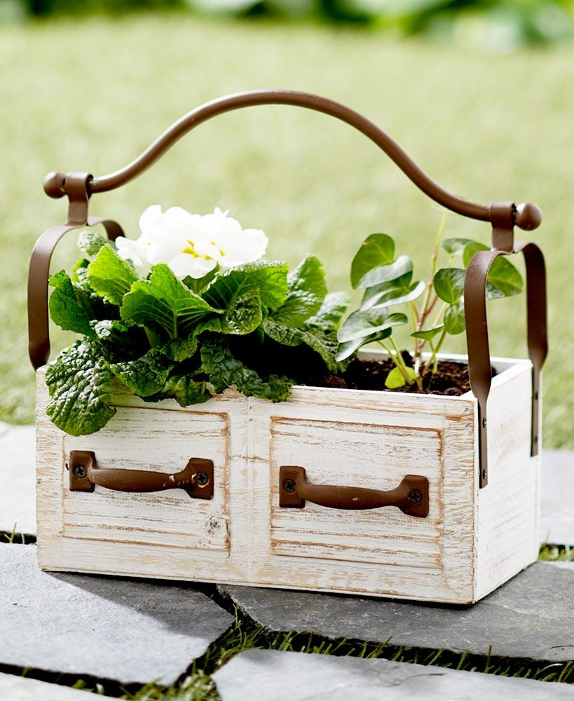 Rustic Planter Box Home - Decor Accents Tigerlily and Me