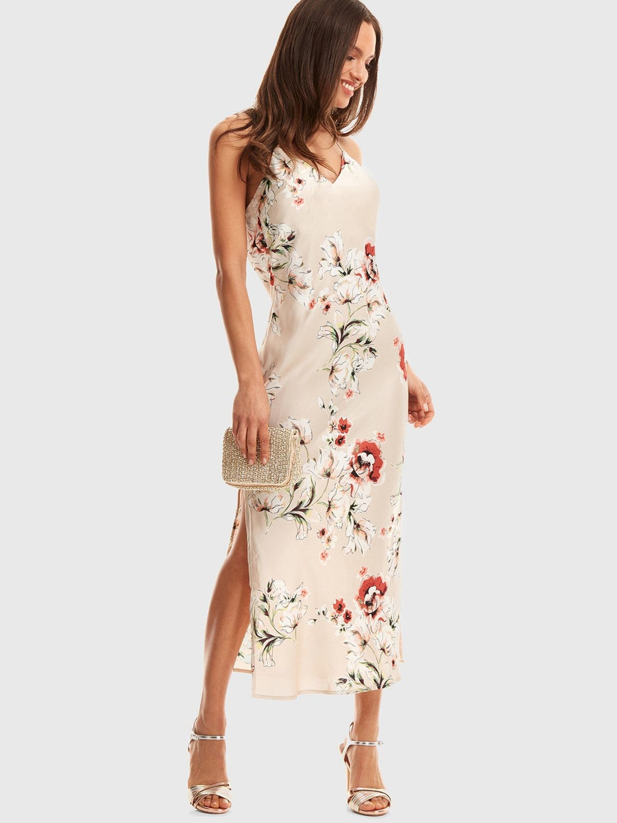Satin Flowers Women - Apparel - Dresses - Casual Tigerlily and Me