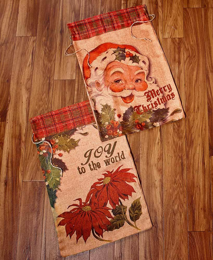 Set of 2 Oversized Gift Sacks Party Decoration Tigerlily and Me