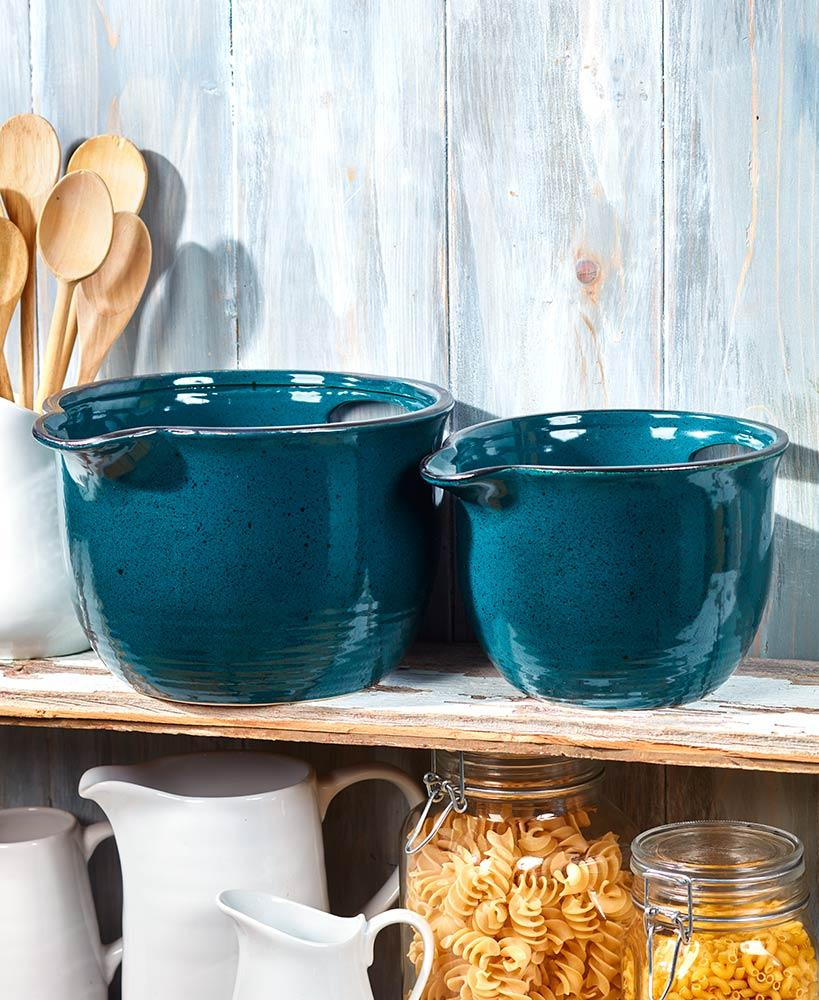 Sets of 2 Oversized Farmhouse Bowls Home - Kitchenware Tigerlily and Me
