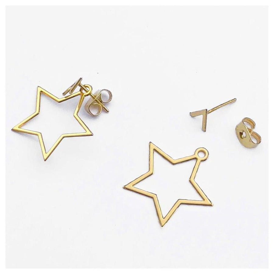 Star Ear Jackets Women - Jewelry - Earrings Tigerlily and Me