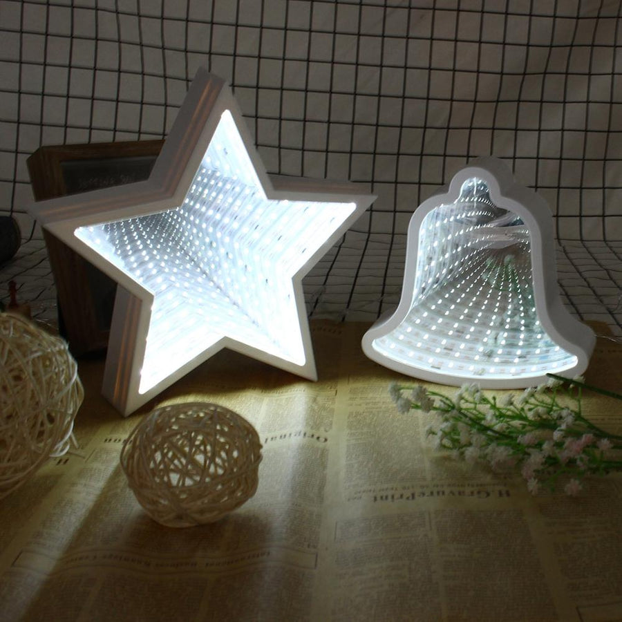 Star Mirror Night Light