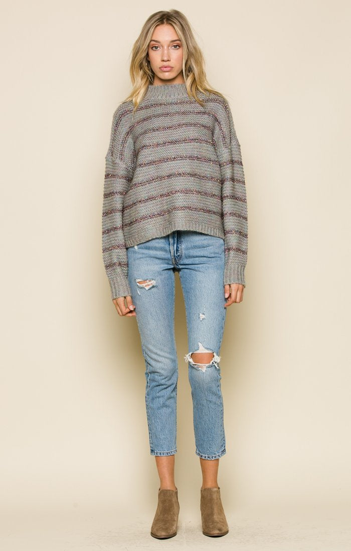 TEGAN MOCK NECK SWEATER Women - Apparel - Sweaters Cardigans and Tops Tigerlily and Me