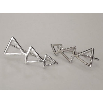 Triangle Climbers Women - Jewelry - Earrings Tigerlily and Me
