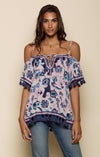 Waiola Cold Shoulder Tunic Women - Apparel - Shirts - Blouses Tigerlily and Me