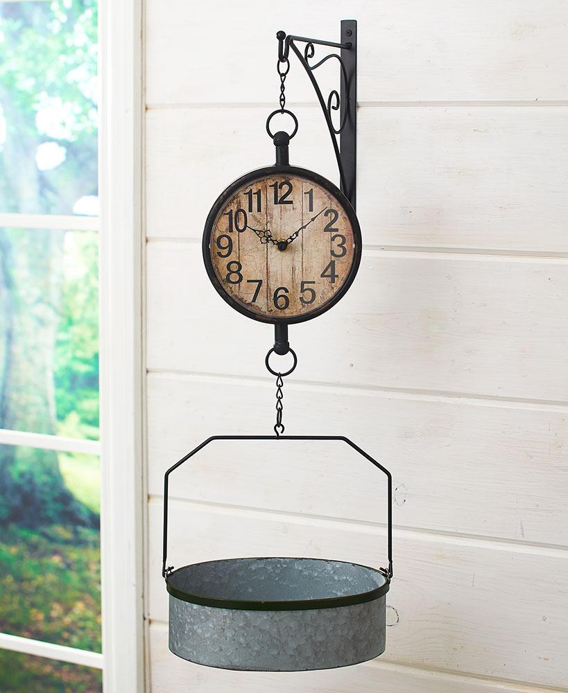 Wall-Mounted Farmhouse Clock Home - Decor Accents Tigerlily and Me
