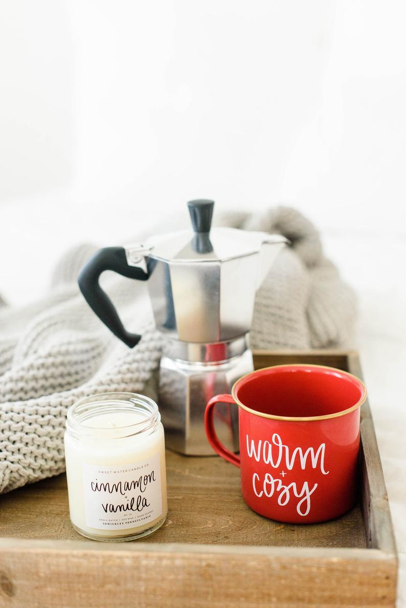 Warm and Cozy Campfire Mug