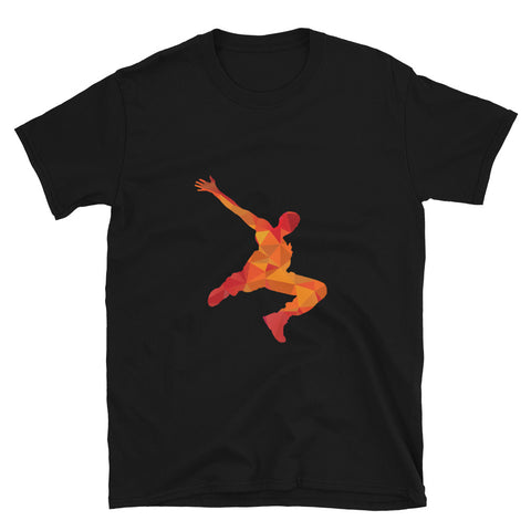 Parkour Pixelated T-Shirt Red/Orange