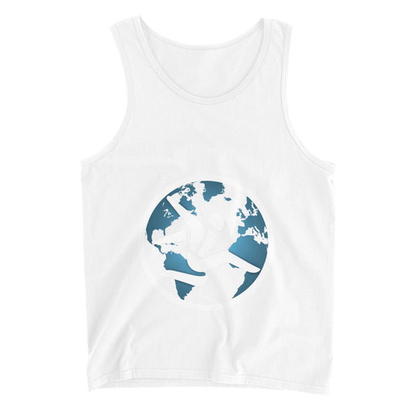 Parkour World Black Singlet