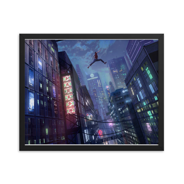 Leap of Faith | Parkour Framed Poster
