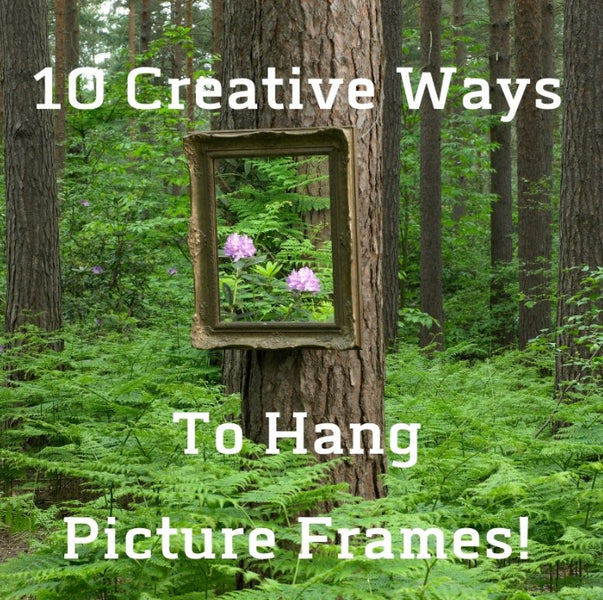 10 Creative Ways to Hang Pictures