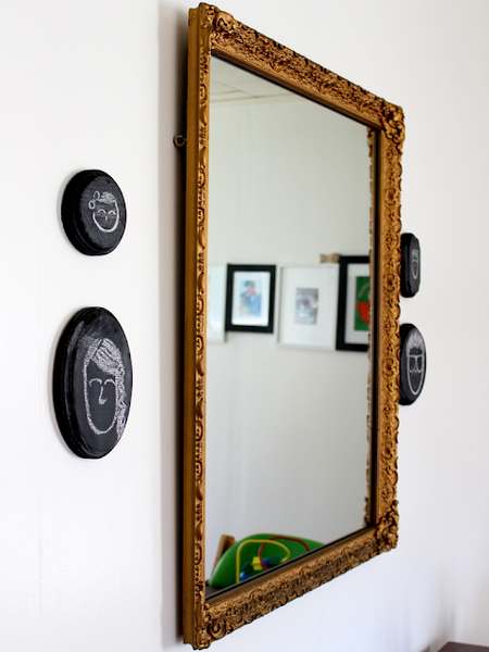 Mini chalkboard wall art