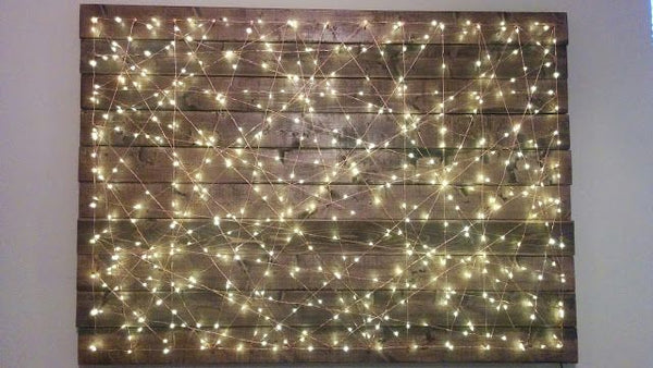 String light art