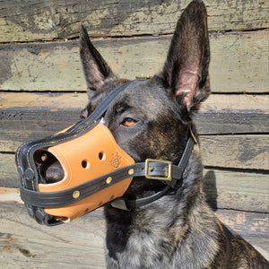 SKÖLLHATI LEATHER MUZZLE