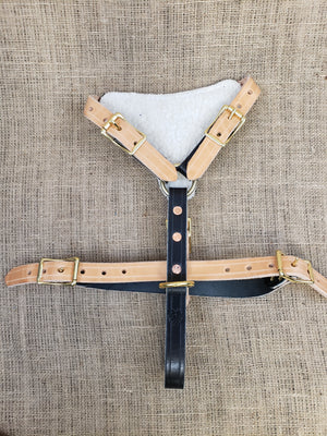 SKÖLLHATI LEATHER AGITATION HARNESS