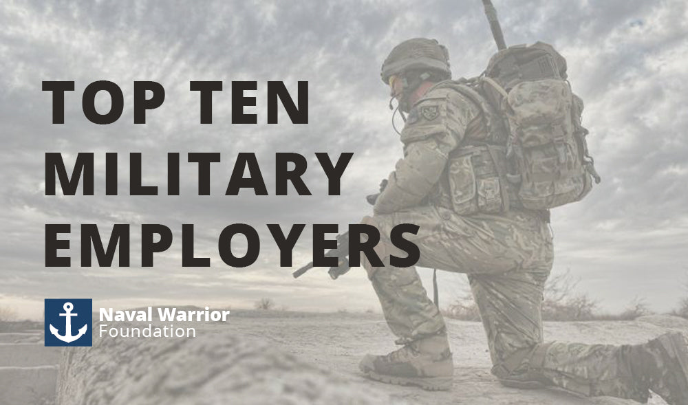Top Ten Military Friendly Employers