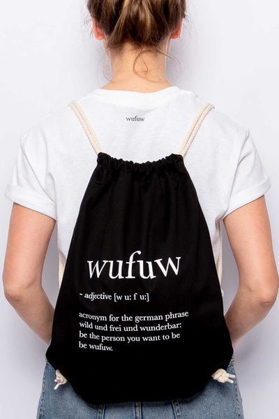 "GYM BAG ""WUFUW"""