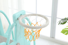 Indoor / Outdoor Four in One Kid's Slide Swing Set with Basket