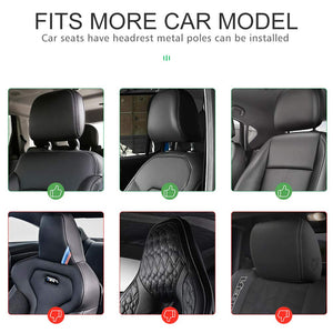 Car Seat Pillow Headrest Neck Support Travel Sleeping Cushion for Kids Adults - 1 Set