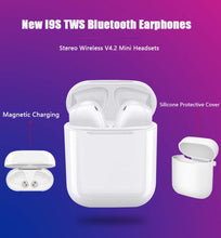 I9S TWS Bluetooth 4.2 Stereo in Ear Headphone, Portable Sports Wireless Earbuds for iOS & Android with Charging Box