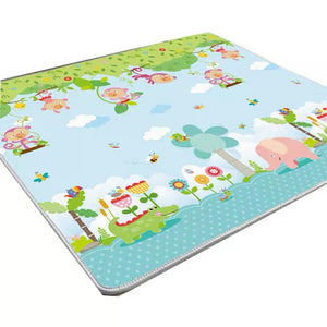 YingZhiLi Baby Power Silk Playmat Fabric Crawl Mat - 2 x 1.8 M