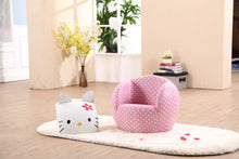 Kids Children Cat Theme Chair Armchair Sofa with Ottoman Furniture Set-MSF-07