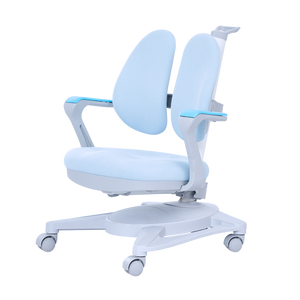 Children Adjustable Ergonomic Study Chair Double Winged Swivel Chair