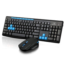 HK3800 2.4GHz Wireless Gaming Keyboard and 1600 DPI Gaming Mouse Desktop Combo