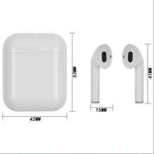 I10 Touchless Control Wireless 5.0 Stereo Dual Ear Calling Earbuds, Headphone for IOS & Android