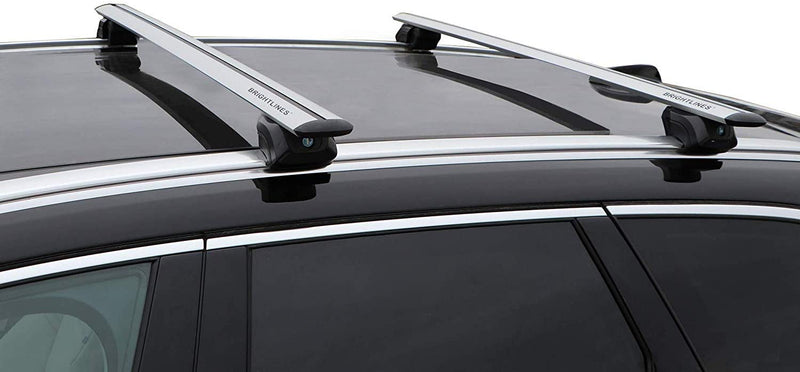 BrightLines Roof Rack Cross Bars Luggage Bars replacement for 2009-2021 Audi Q5