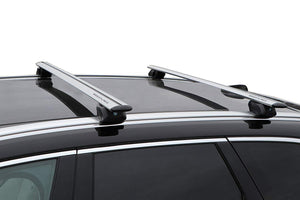 BRIGHTLINES Roof Rack Cross Bars Ski Rack Combo Compatible with Buick Encore 2013-2020 ( Up to 4 Skis or 2 Snowboards) - ASG AUTO SPORTS
