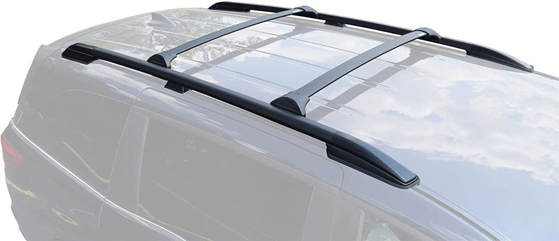 BRIGHTLINES Crossbar + Roof Side Rail Combo Compatible with 2018-2020 Honda Odyssey - ASG AUTO SPORTS