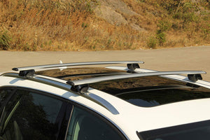 BRIGHTLINES Roof Rack Cross Bars Compatible with 2016-2018 Lincoln MKX and 2019 Nautilus - ASG AUTO SPORTS