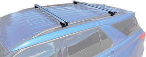 BrightLines Roof Rack Crossbars Compatible with Ford Explorer 2020 - ASG AUTO SPORTS