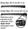 BrightLines Honda Pilot Roof Rack Crossbars Kayak Rack Combo 2003-2008 - ASG AUTO SPORTS