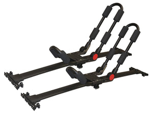 BrightLines Toyota Highlander Roof Rack Crossbars Kayak Rack Combo 2008-2013 - ASG AUTO SPORTS
