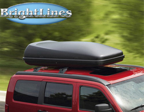 Brightlines Dodge Nitro Roof Rack Crossbars 2007 2012