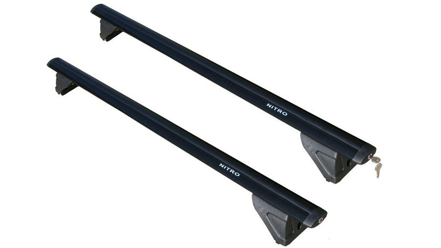BrightLines Dodge Nitro Roof Rack Crossbars 2007-2012