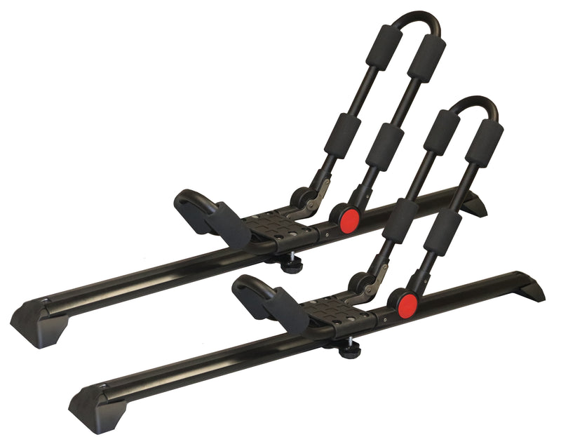 BrightLines Saturn Vue Roof Rack Crossbars Kayak Rack Combo 2002-2007 - ASG AUTO SPORTS