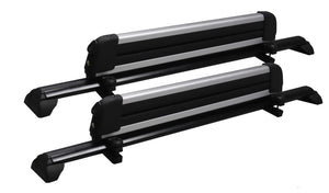 BrightLines Roof Rack Crossbars Ski Rack Combo Replacement for Saturn Vue 2002-2007 - ASG AUTO SPORTS