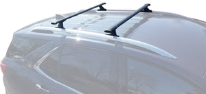 BrightLines Roof Rack Crossbars and Kayak Rack Combo Replacement For Chevy Equinox 2018-2020 - ASG AUTO SPORTS