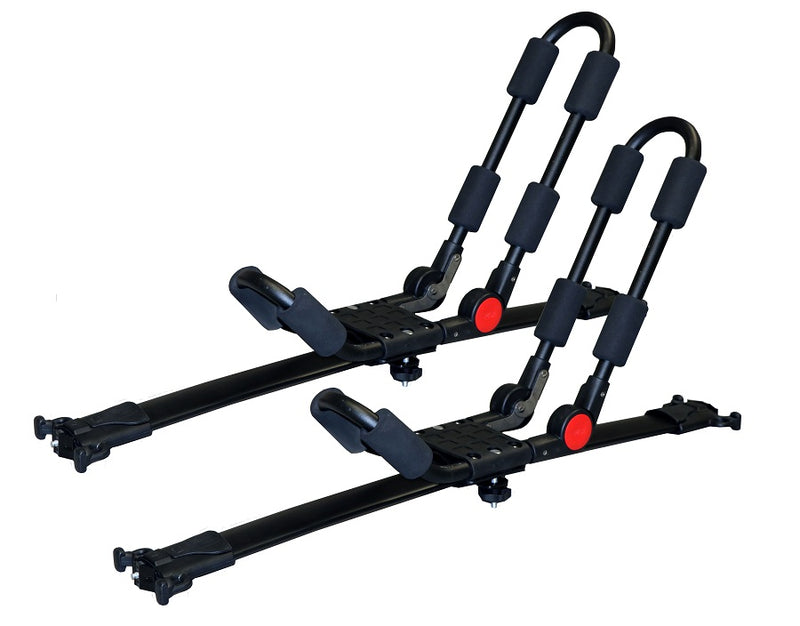BrightLines GMC Terrain Roof Rack Crossbars and Kayak Rack Combo 2010-2017 - ASG AUTO SPORTS