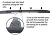 BrightLines GMC Terrain Roof Rack Crossbars 2010-2017 - ASG AUTO SPORTS