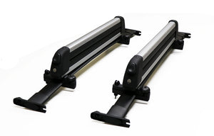 BrightLines Ford Explorer Roof Rack Crossbars and Ski Rack Combo 2011-2015 - ASG AUTO SPORTS