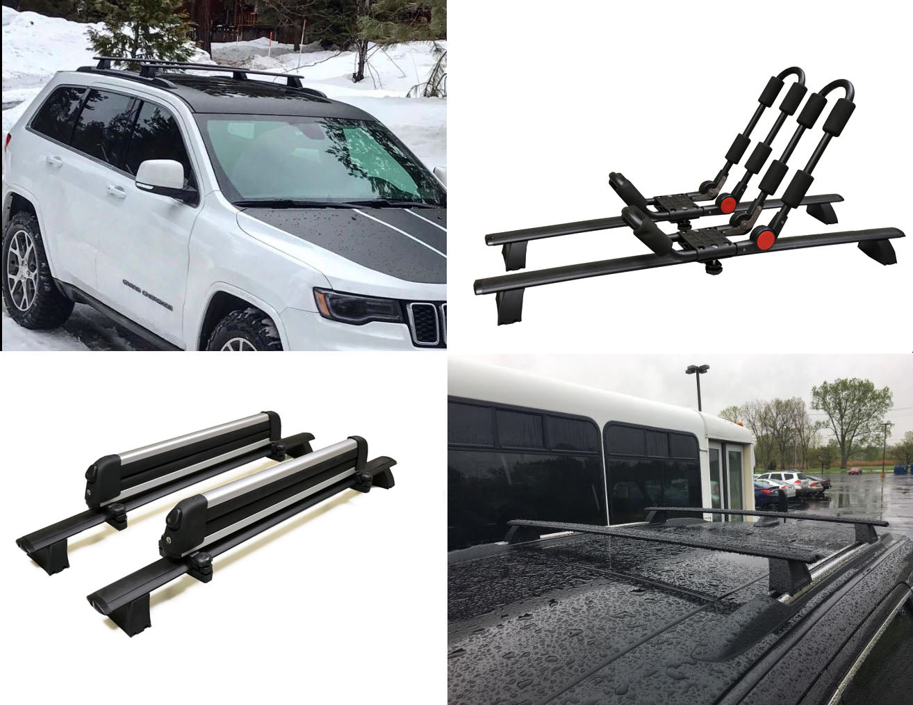 Brightlines Roof Rack Crossbars Replacement For Jeep Grand Cherokee 20