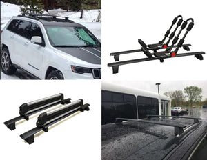 BrightLines Jeep Grand Cherokee Roof Rack Crossbars 2011-2019 - ASG AUTO SPORTS